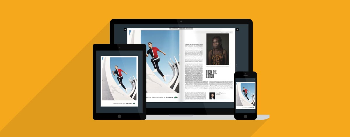 Multiple devices with HTML5 Flipbook