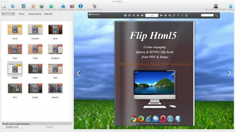 PDF Flipbook HTML5